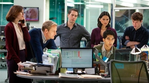 "Escena de la serie ""The Newsroom"""