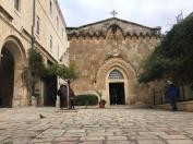Supuesto antiguo Palacio de Poncio Pilatos, donde juzgaron a Jesús.